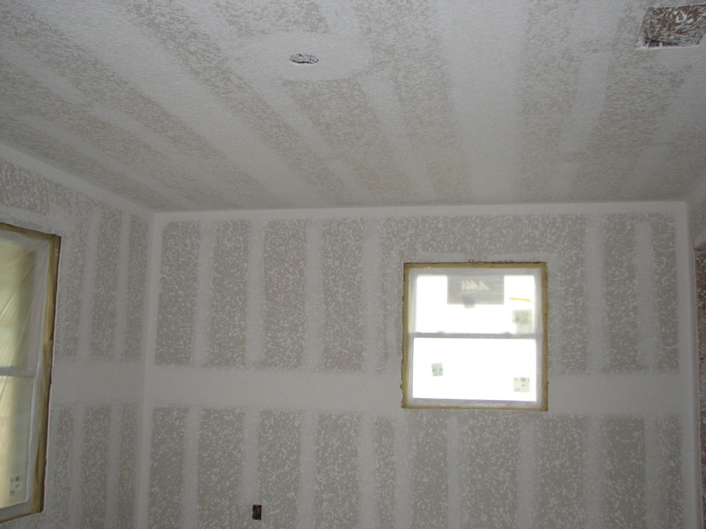 Drywall Finishing Knockdown Splatter Texture