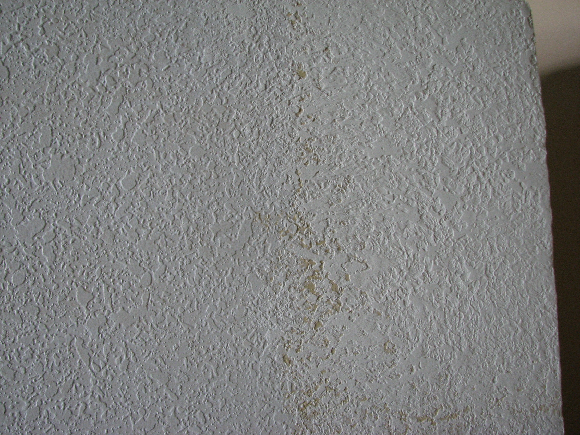 Knockdown Textured Ceiling Knockdown Texture Sponge Can Match Texture On Wall Repairs