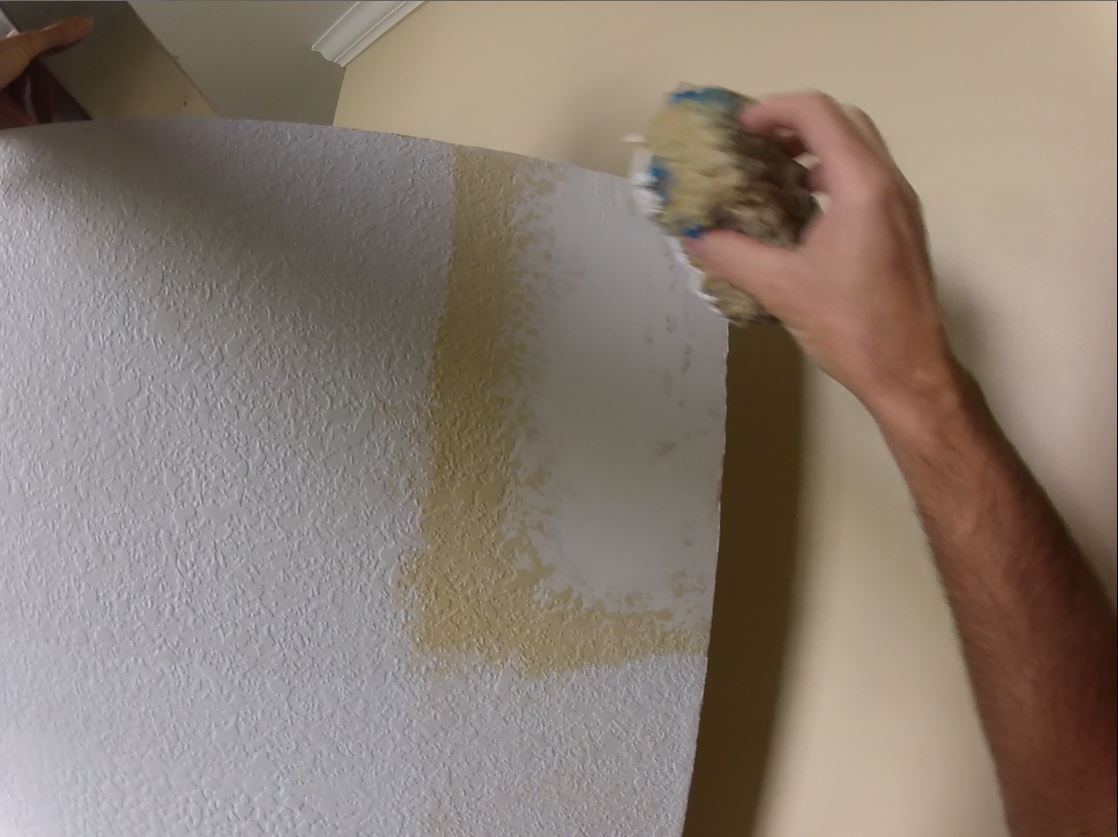 Wall Repair Knockdown Texture Matching
