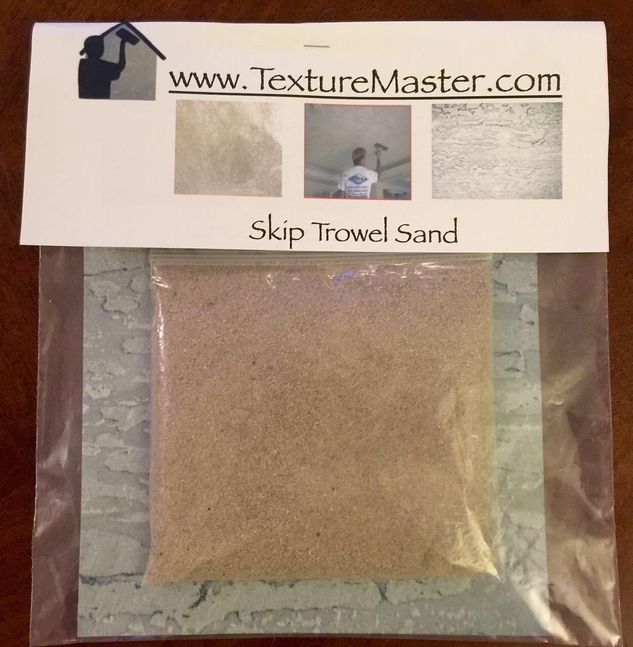 Skip Trowel texture Sand