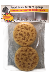 Contractor Double Pack-Knockdown Texture Sponge
