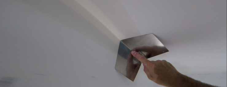 How to use a drywall corner tool