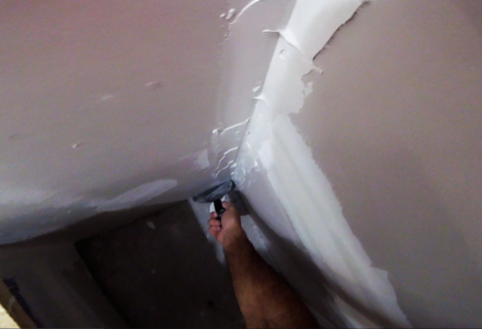 How to drywall tape inside corners- Best of DIY Drywall Tips-Sheetrock Tutorials Series