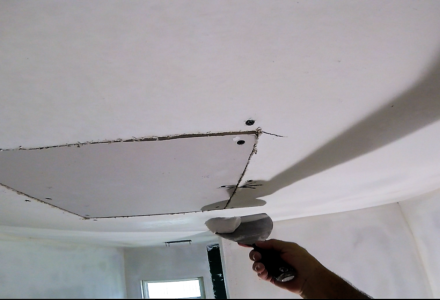 Finishing Drywall Patch